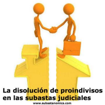 La disolución del proindiviso en la subasta judicial