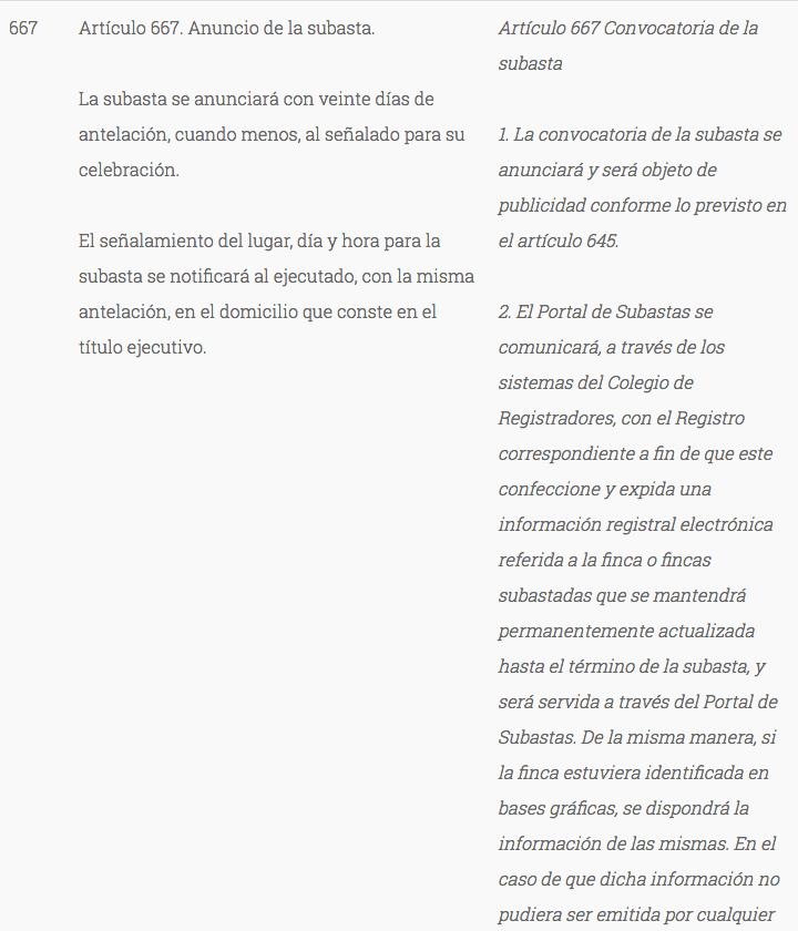 Legislación sobre notificaciones judiciales