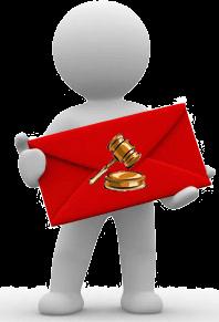 Notificaciones judiciales antes de la subasta