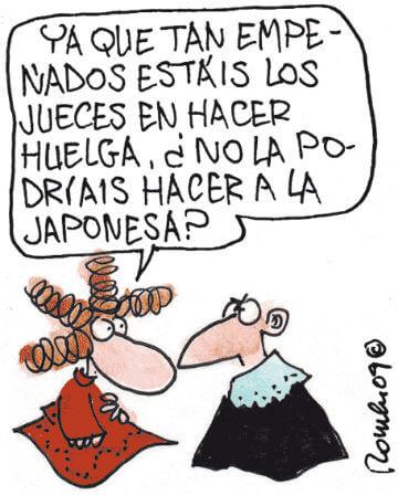 Huelga de jueces en la Justicia española