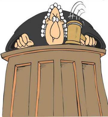 Juez de la Justicia española