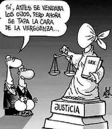 Justicia avergonzada por los desahucios