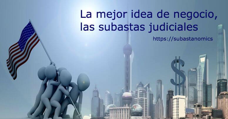 idea de negocio, las subastas judiciales