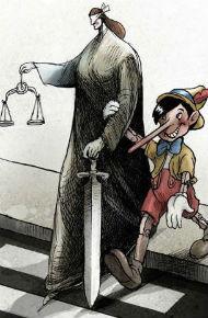 Juez ingenuo guiado por la mentira