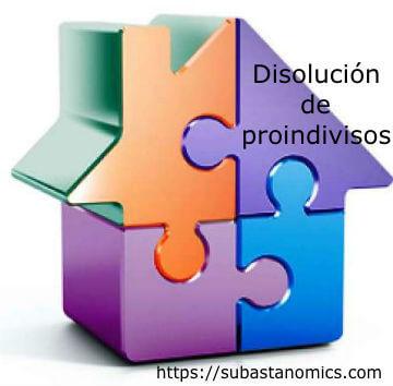 Disolución de proindivisos